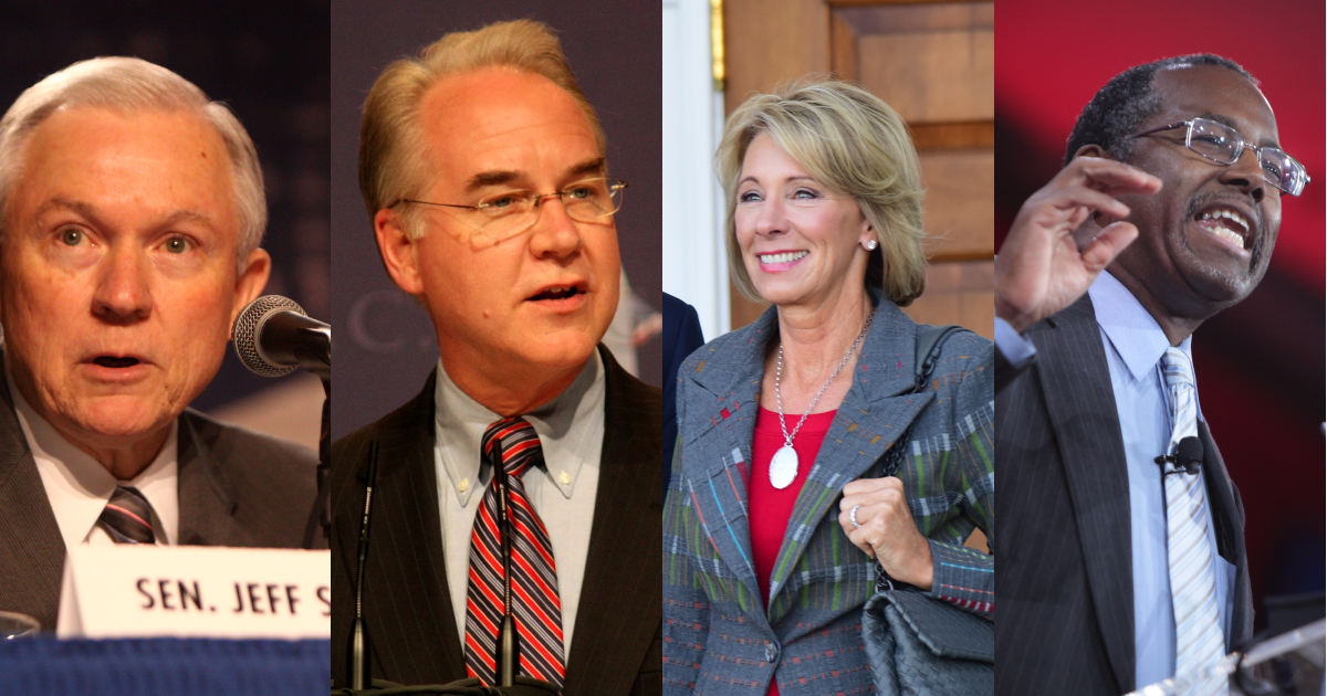 Four Trump Cabinet Nominees We Are Watching