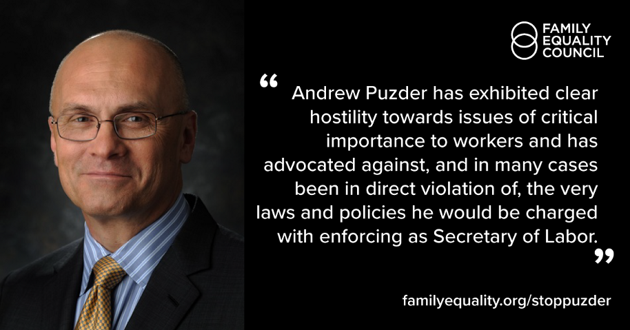 Labor Secretary Nominee Andrew Puzder is No Friend to American Workers