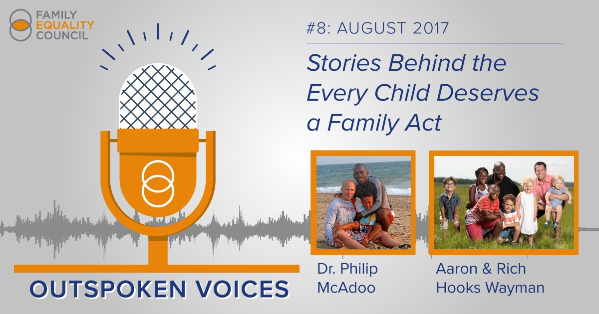 Episode #8 (Part 1): Stories Behind the Every Child Deserves a Family Act
