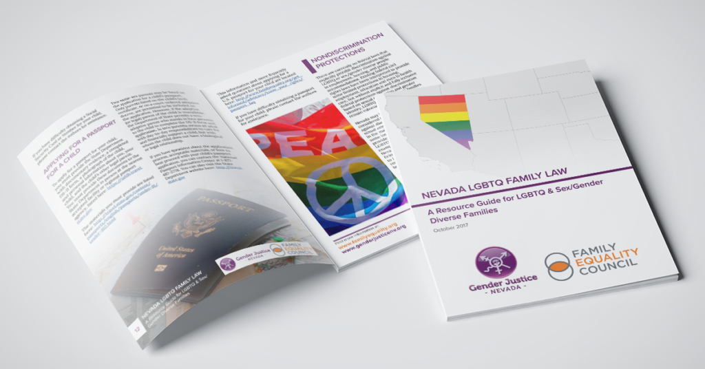 Family Equality Council Releases Legal Guide for LGBTQ Families in Partnership with Gender Justice Nevada