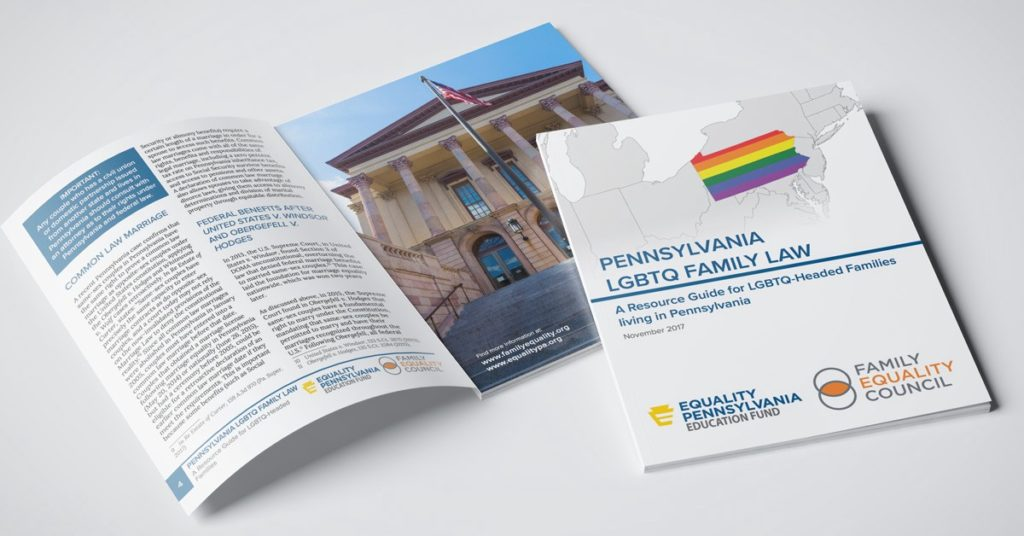 New Legal Guide Released for LGBTQ Families in Pennsylvania