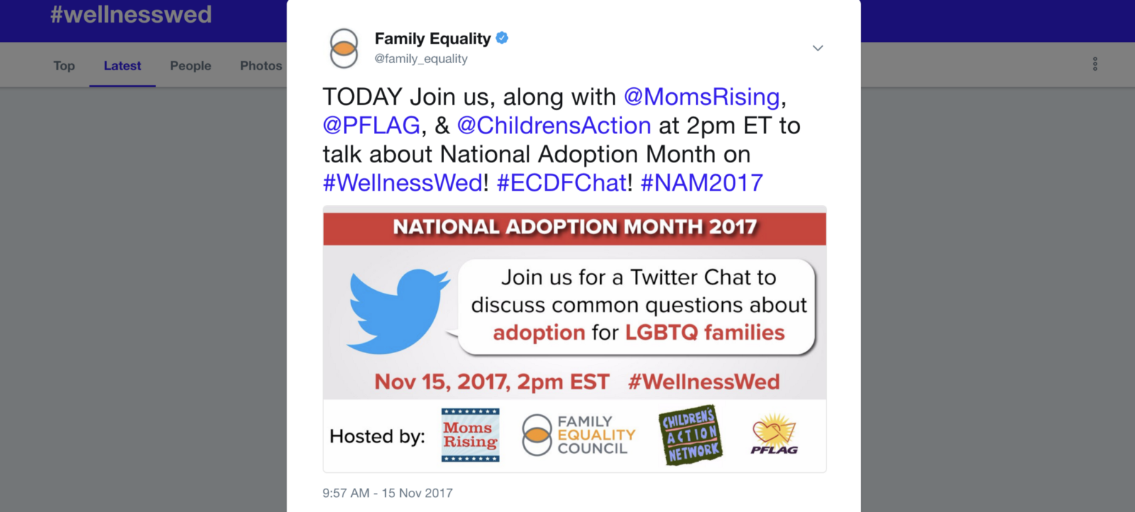 Recap: Adoption & LGBTQ Families Twitter Chat