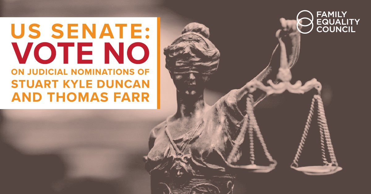 Oppose Duncan and Farr Nominations