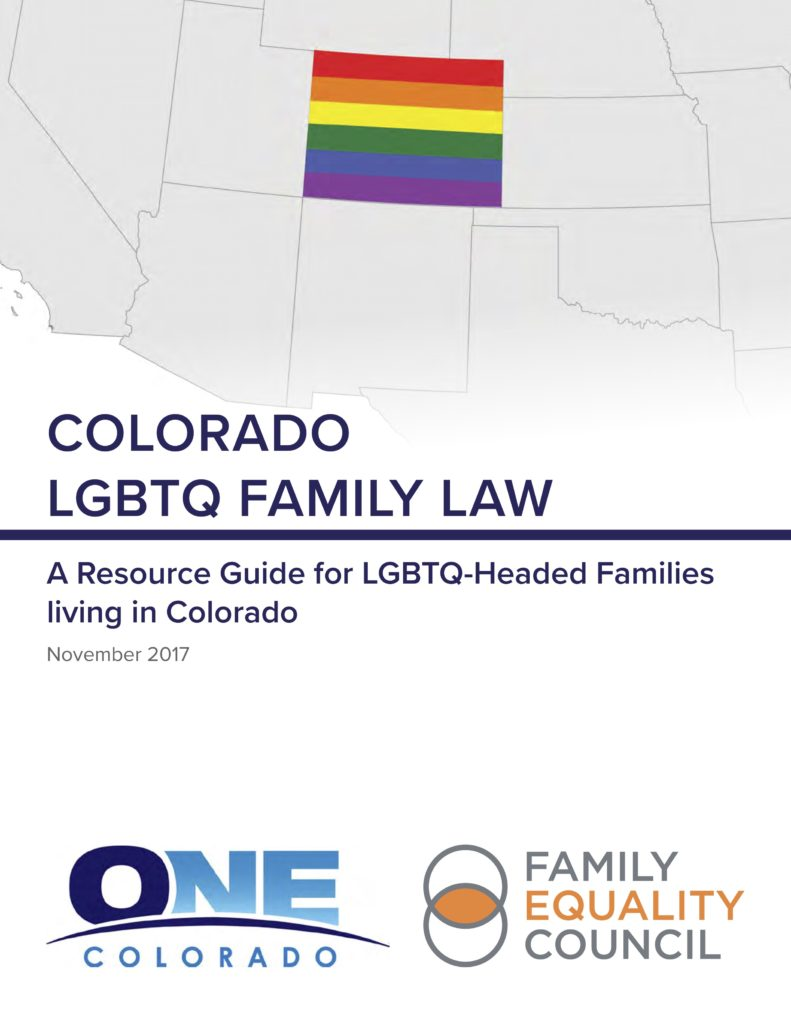 Colorado LGBTQ Family Law Guide