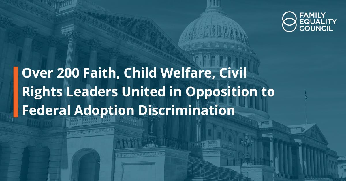 Adoption Discrimination Letter