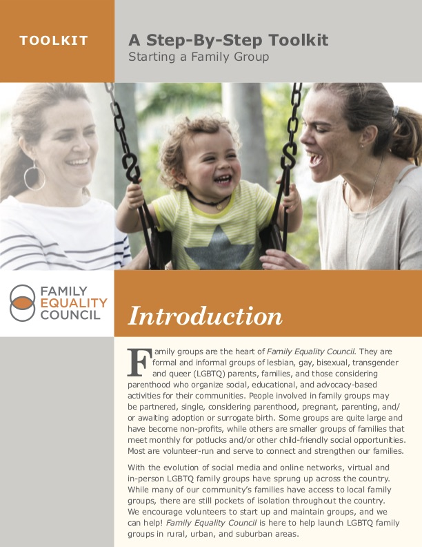 Starting a Family Group: Step-by-Step Toolkit