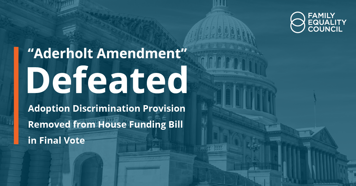 Aderholt Amendment Defeated