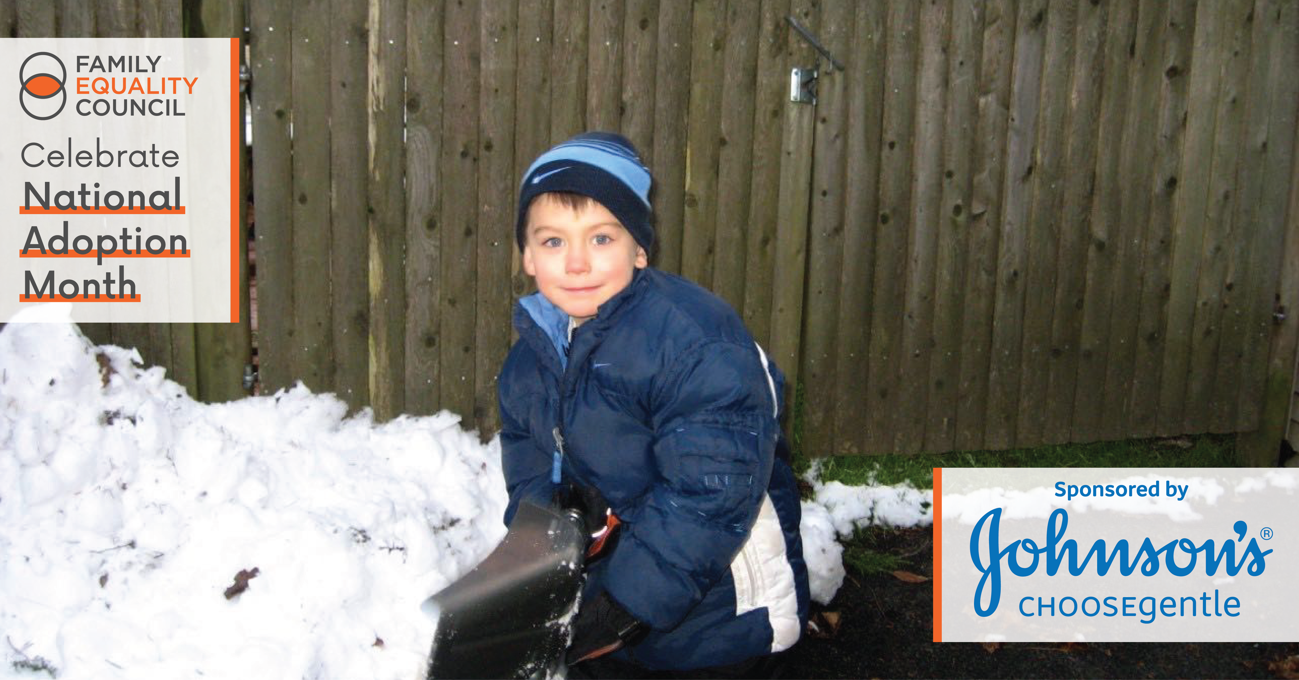 Ellen and Missy's Son in the Snow