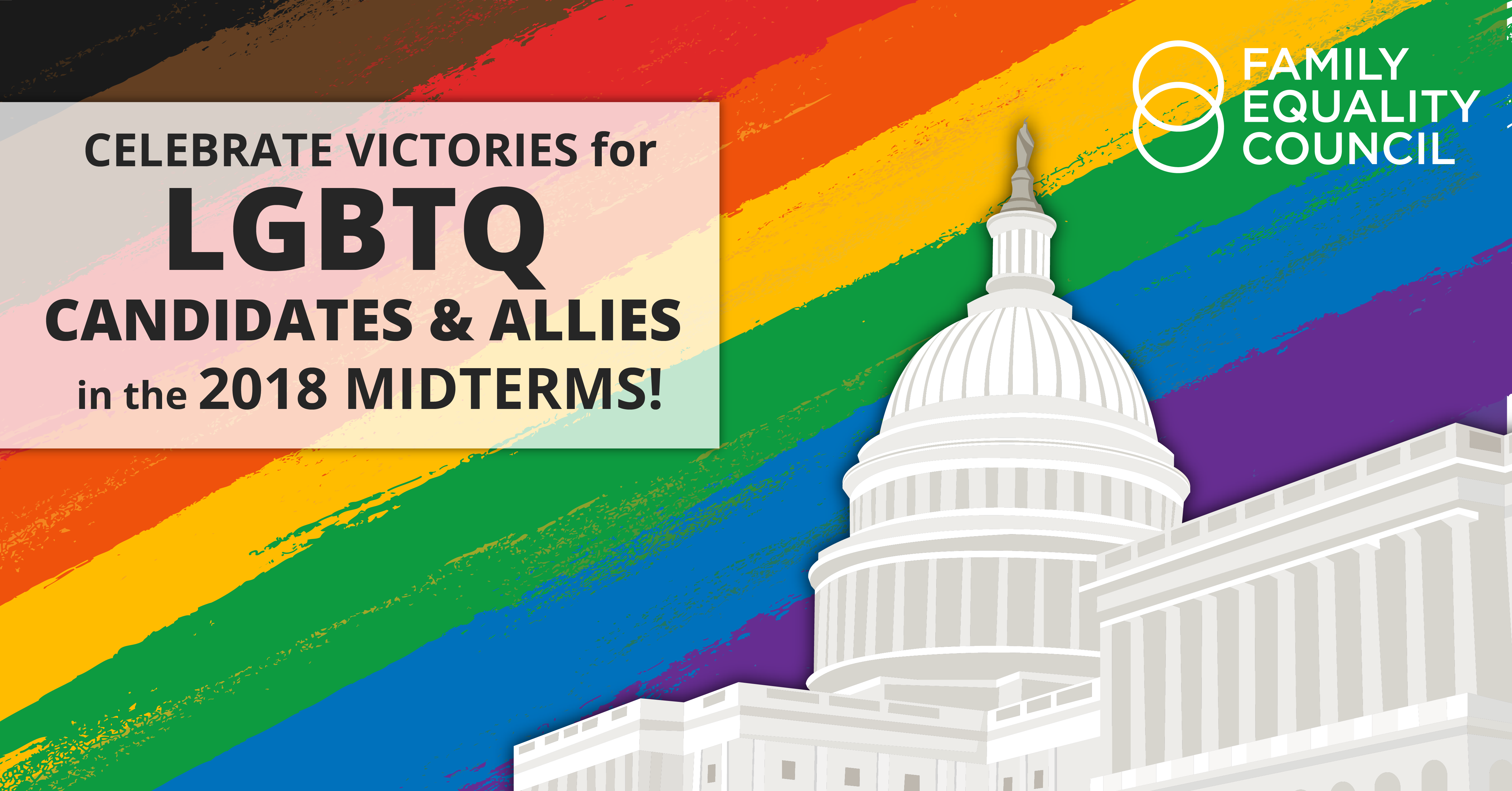 Celebrate LGBTQ Victories in the Midterms!