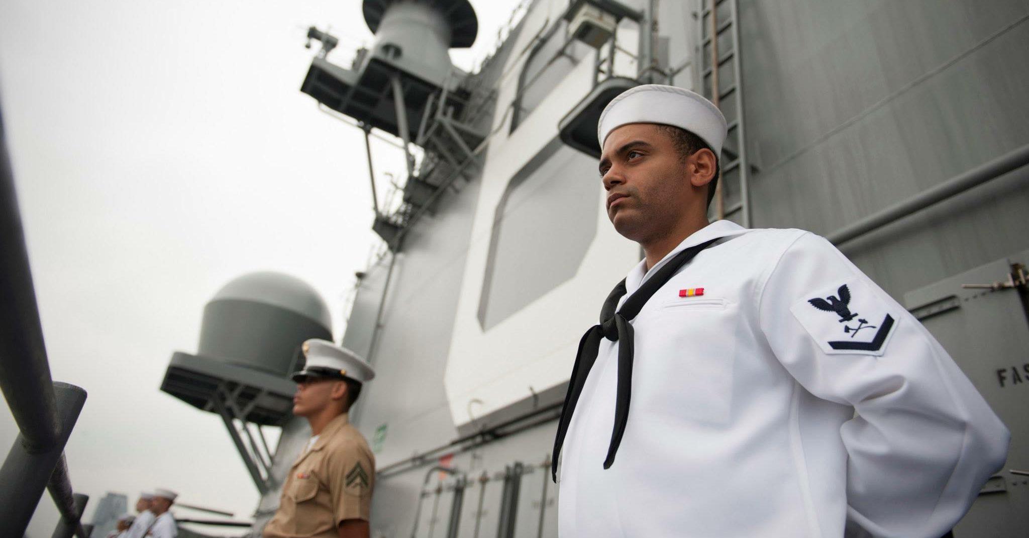 Terry Scraggins Navy