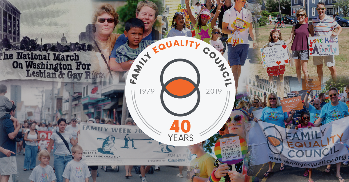 Family Equality Celebrates 40th Anniversary