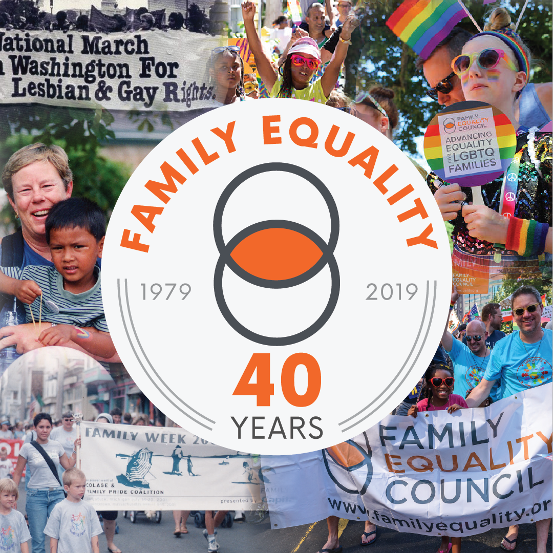 Family Equality 40th Anniversary