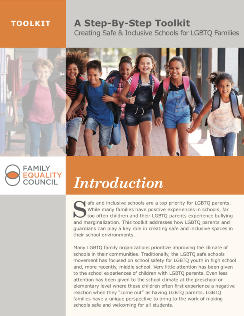 Creating Safe & Inclusive Schools for LGBTQ+ Families