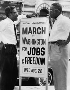 Bayard Rustin March on Washington