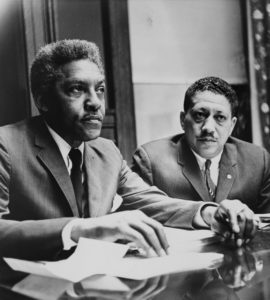 Bayard Rustin and Eugene Reed