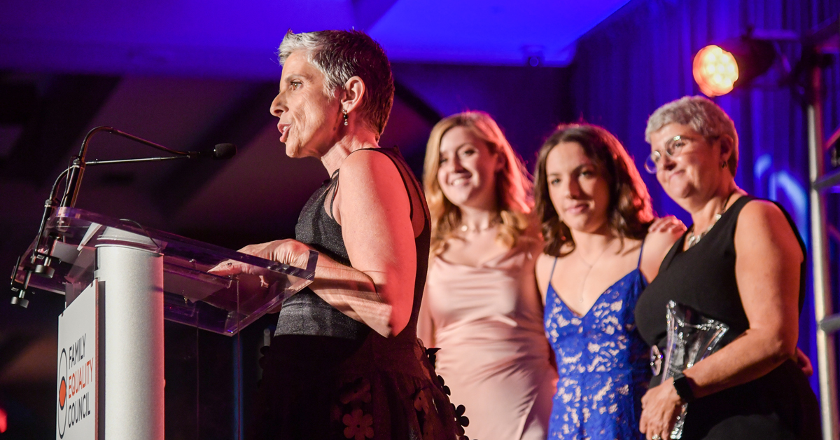 Kim Bergman Receives Hostetter-Habib Family Award at Night at the Pier 2019