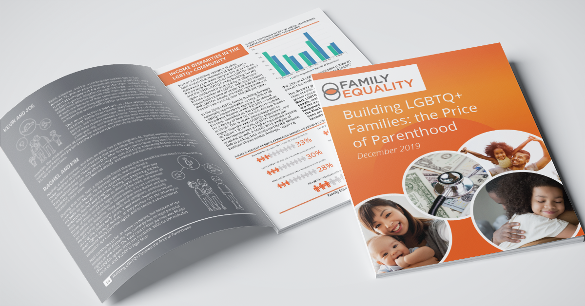 Building LGBTQ Families Price of Parenthood Report