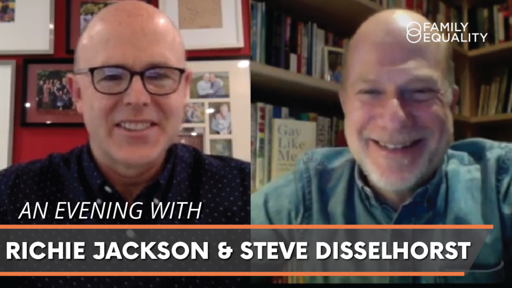 WATCH: Gay Dads Who Write: A Reading with Richie Jackson & Steve Disselhorst