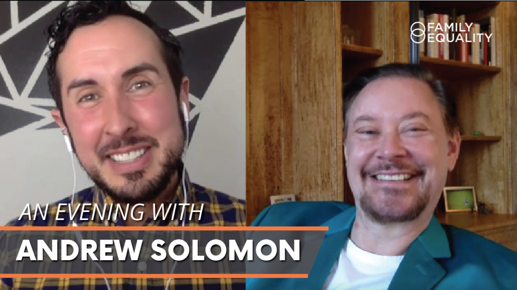 WATCH: An Exclusive Reading and Q&A with Andrew Solomon
