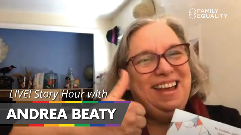 WATCH: Andrea Beaty Reading and Q&A for Kids