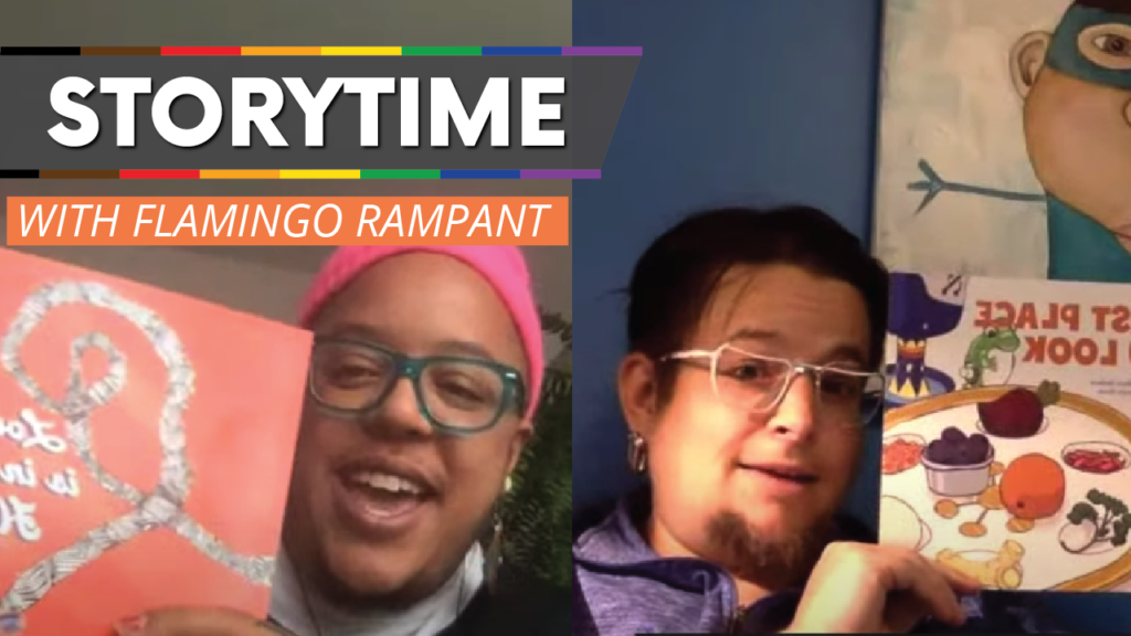 WATCH: LGBTQ+ Story Time with Flamingo Rampant