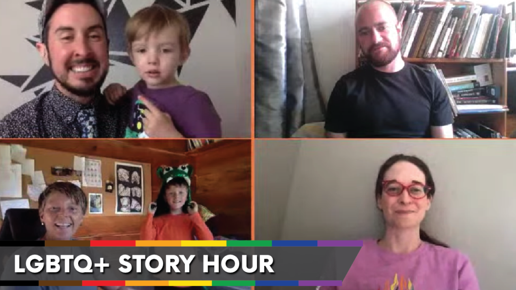 WATCH: LGBTQ+ Story Hour with OurShelves