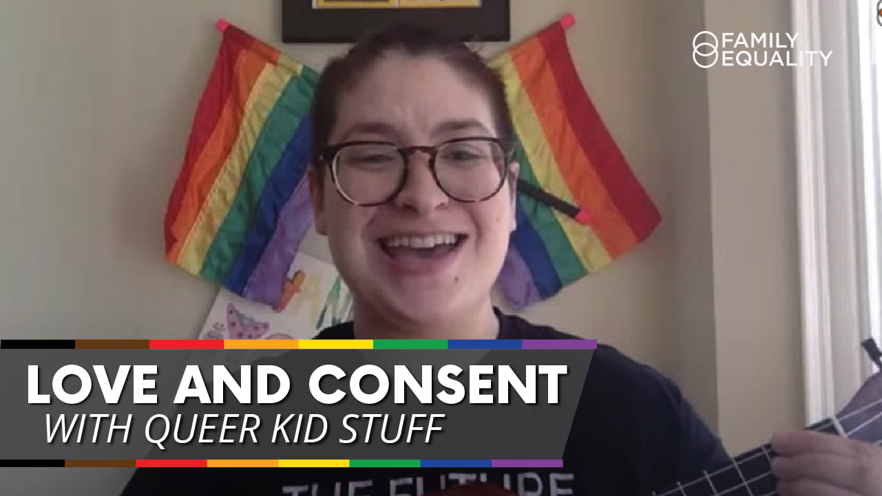 love and consent with queer kids stuff