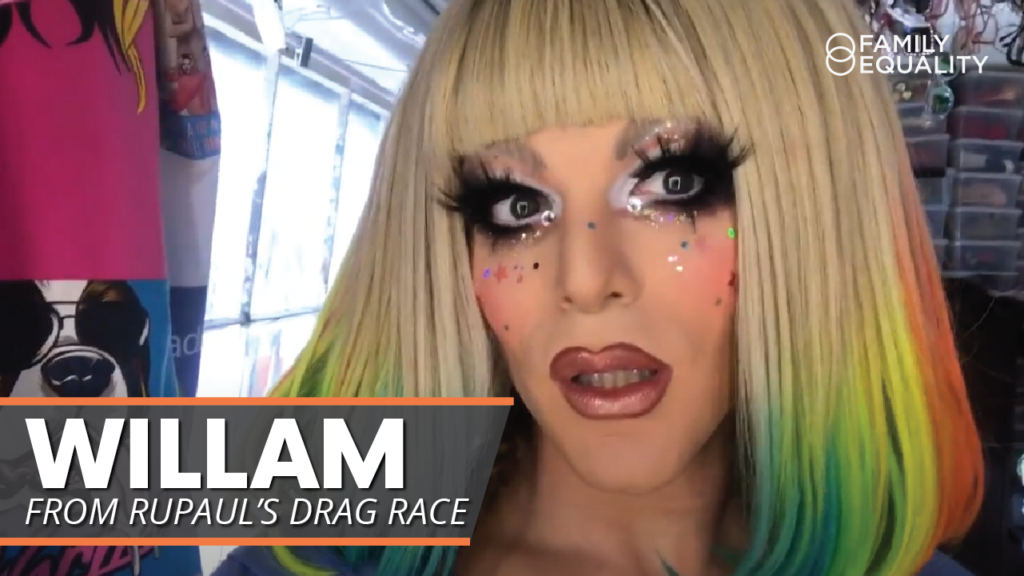 WATCH: Get Ready with RuPaul's Willam Belli [Full Face Drag Makeup Tutorial for Kids]