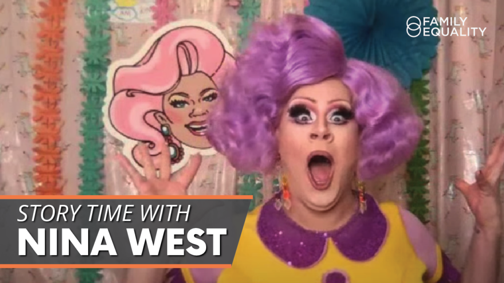 WATCH: Drag Queen Story Hour with Nina West