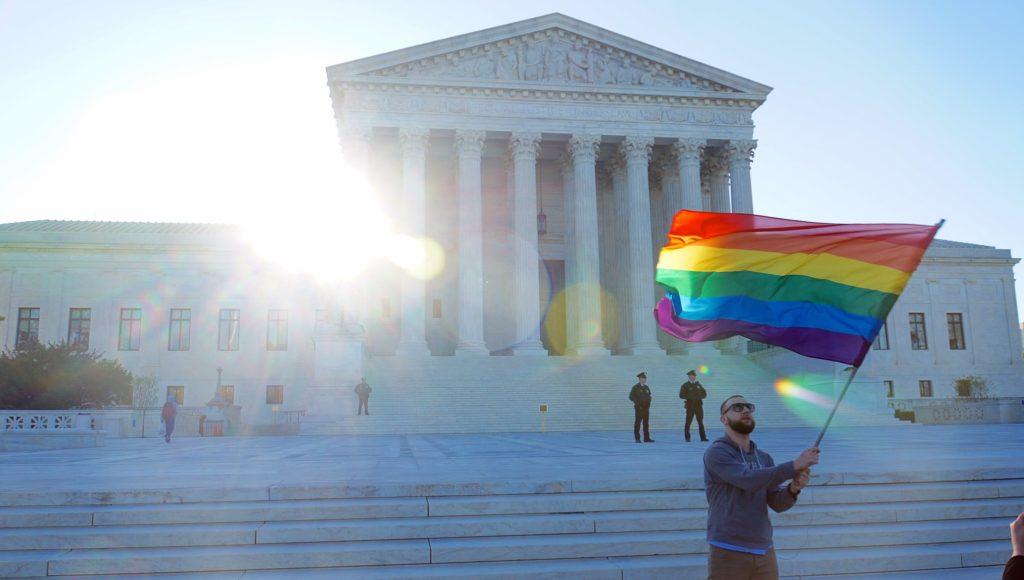 Supreme Court Pride Flag