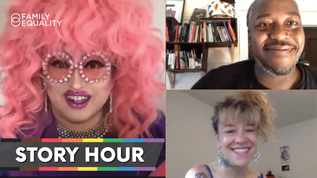 WATCH: Story Hour with Michelle Tea, Lil' Miss Hot Mess, and Brontez Purnell