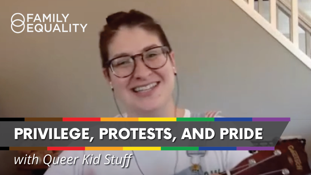 WATCH: Explaining Privilege, Protests, and LGBTQ+ Pride to Kids (ft. Queer Kid Stuff)