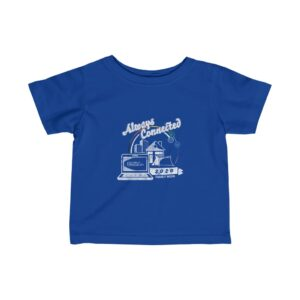 """Child's Blue Tshirt with Family Week 2020 """"Always Connected"""" Design"""