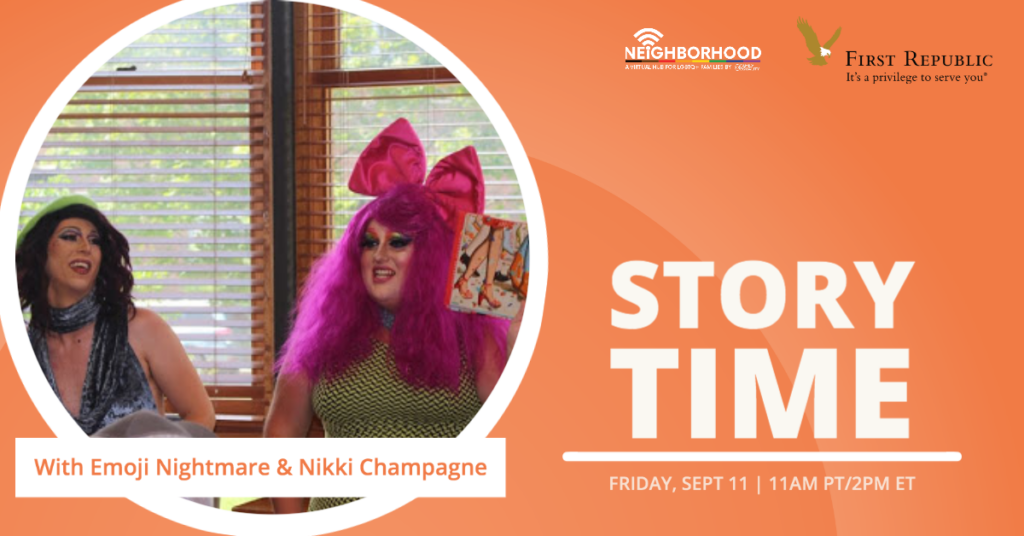 WATCH: Drag Story Time (ft. Emoji Nightmare and Nikki Champagne)