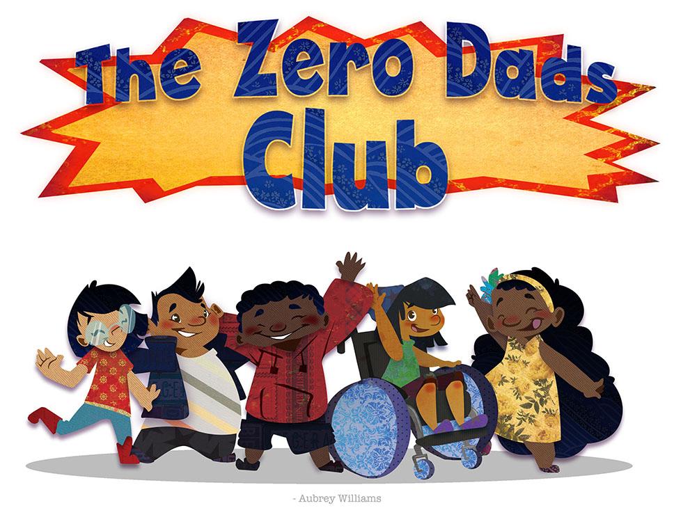 The Zero Dads Club book cover
